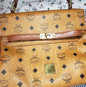 MCM kelly style bag